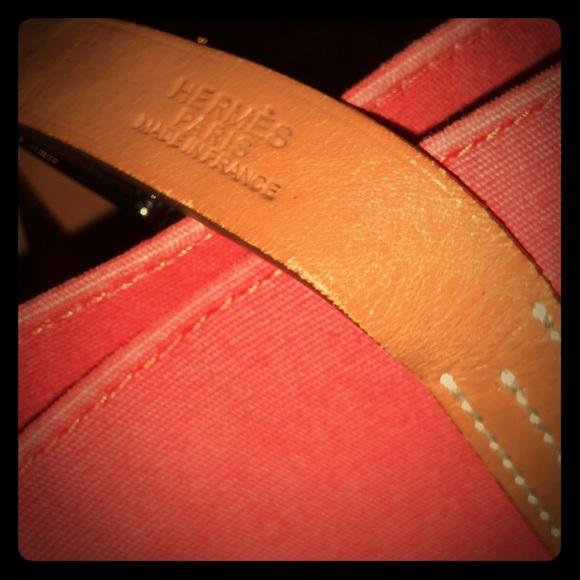 bd209490d5a5 Hermes Handbags - Auth Hermes Etriviere Elan Bag in Bougainvillea